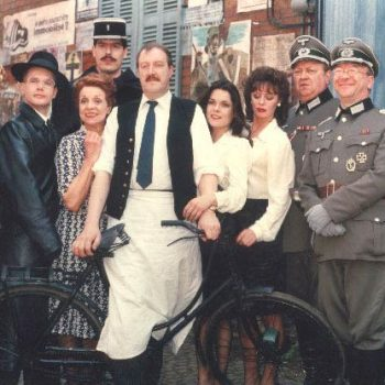 The cast of 'Allo 'Allo