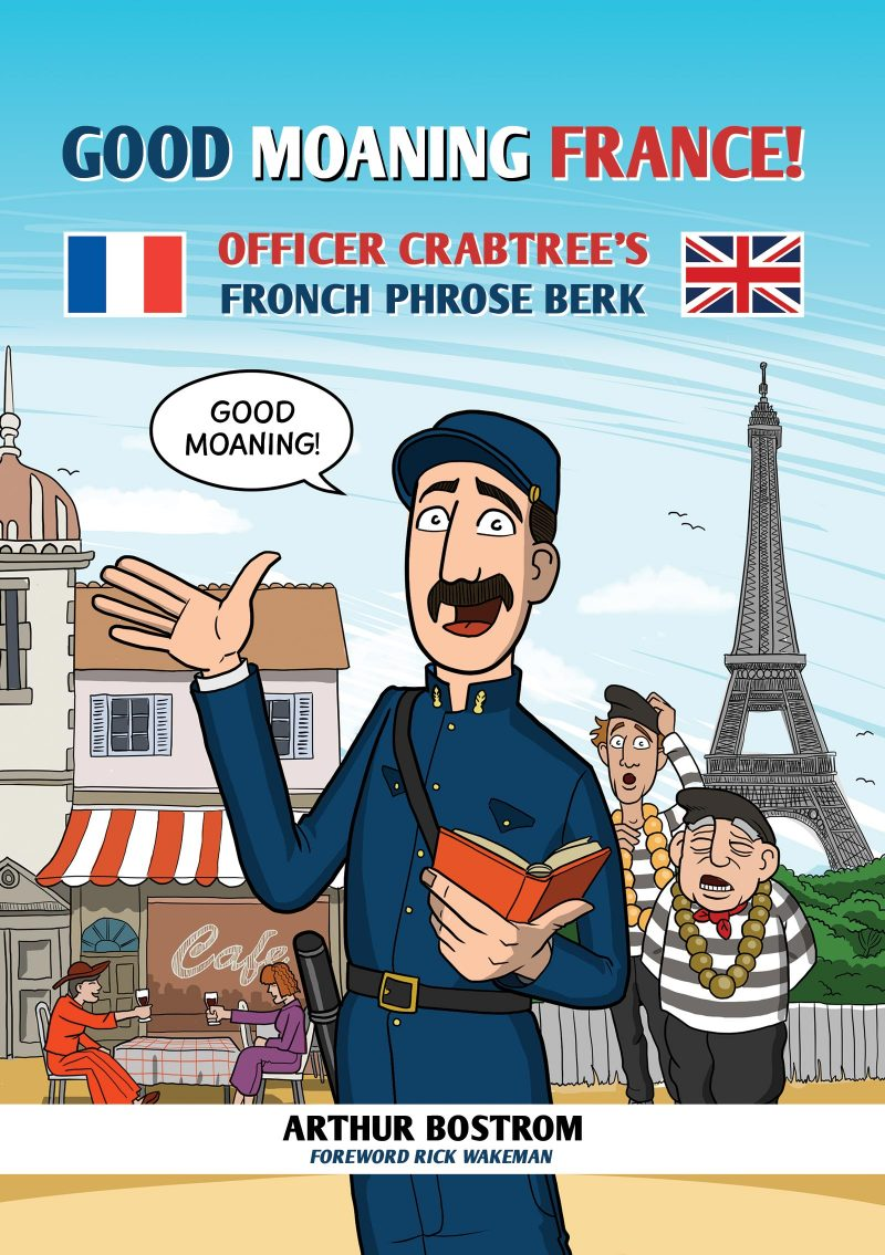 Good Moaning France! Officer Crabtree's Fronch Phrose Berk